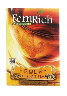 "Чай ""FemRich Exclusive"" GOLD CEYLON TEA"