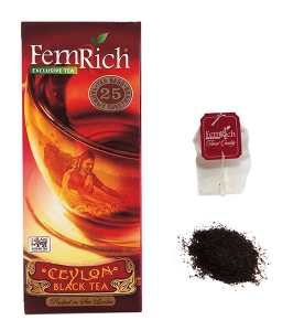 "Чай ""FemRich Exclusive"" CEYLON BLACK TEA"