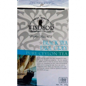 WINDSOR EARL GREY TEA PEKOE чёрный листовой чай с бергамотом (200 гр.)