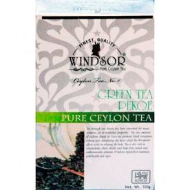 WINDSOR GREEN TEA PEKOE зелёный листовой (100 гр.)