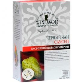 WINDSOR SOURSOP BLACK TEA чёрный листовой чай с саусепом (100 гр.)