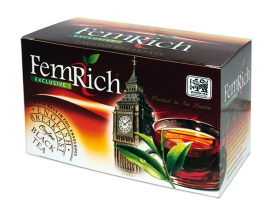 Чай FemRich English Breakfast Ceylon Black Tea