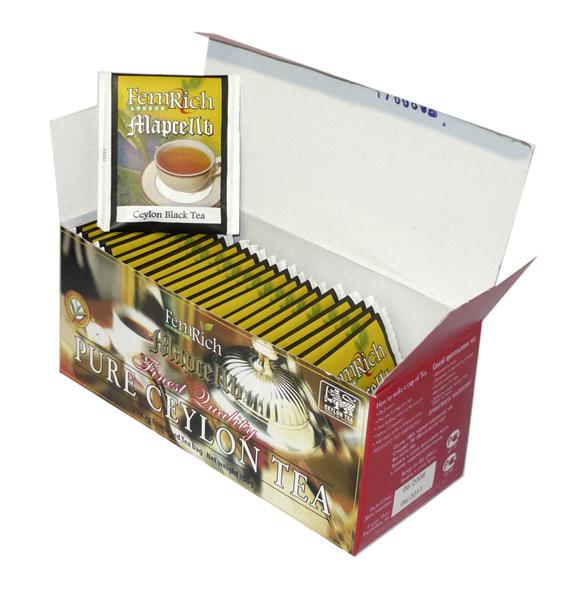 Чай МАРСЕЛЬ - Чёрный в конвертах